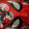 スパイダーマンファイルとキーホルダー